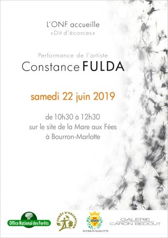 affiche expo Constance Fulda
